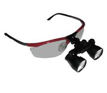 LW Scientific 2.5x - 3.5x Premium Variable Ultra-Light Flip-Up Loupes